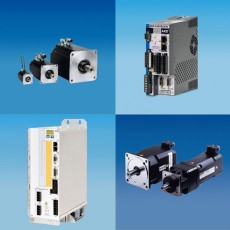 Quelques produits de notre gamme Kollmogen, moteurs, variateurs, contrôleurs, servomoteur