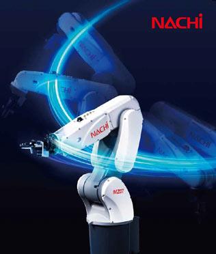 Gamme robots Nachi articulé et polyarticulé 6 axes serie MZ