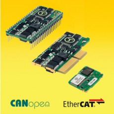 Micro Variateur montatge carte ipos3602BX-ipos3602MX-ipos3604BX-ipos3604MX CANOpen EtherCAT Technosoft