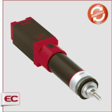 Verin à tige électrique pneumatique-EC EleCylinder IAI