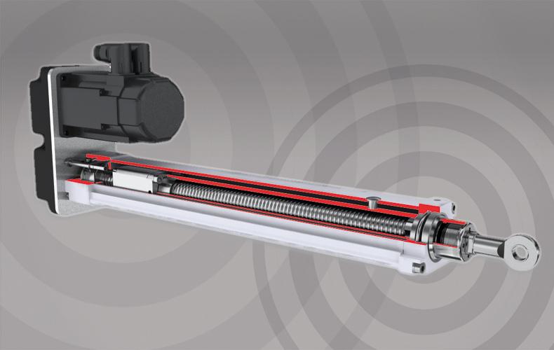 Vérin électrique haute précision Thomson Tollo