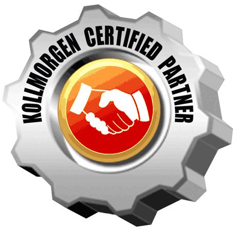 """Kollmorgen certification partenaire """"Certified Partner"""" pour Rosier Mécatronique"""